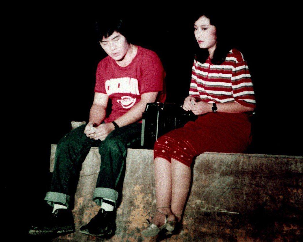 李立群、于珊主演1982年「守著陽光守著你」。圖/華視提供