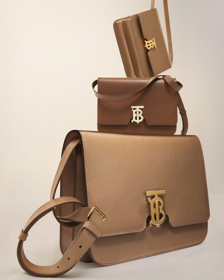 TB Bag是BURBERRY的重點新款。圖/BURBERRY提供
