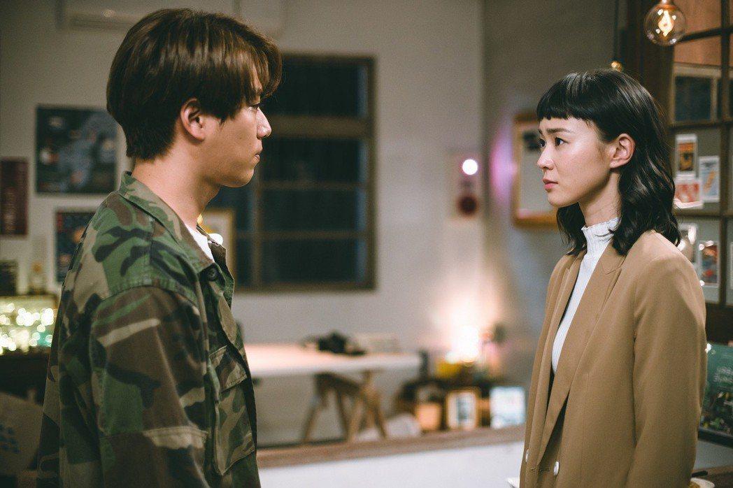 林子閎(左)、鍾瑶戲中面臨分離。圖/東森提供