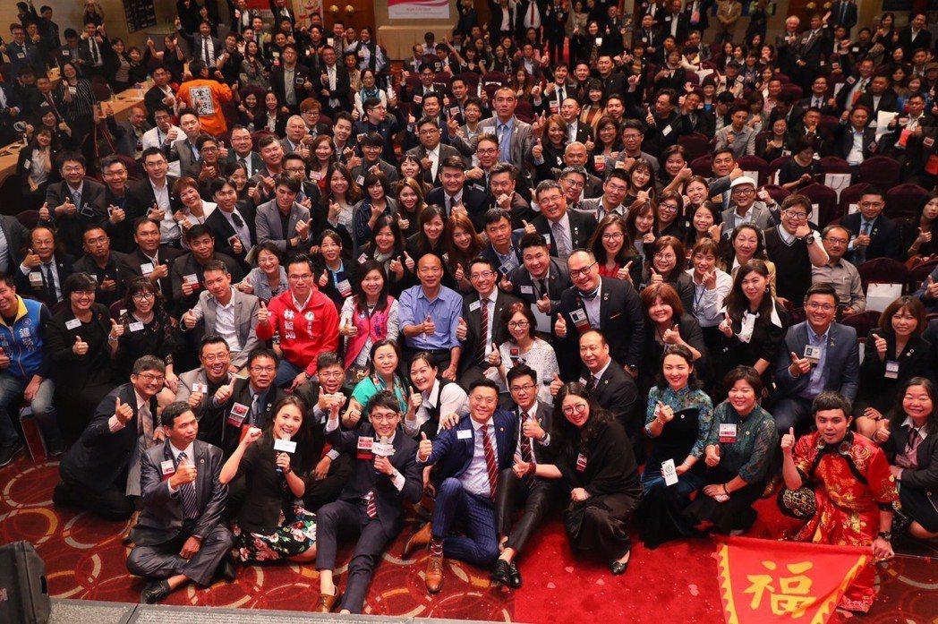 BNI高雄市中心區21日舉辦「2019 INW國際人脈交流週」,來自海內外400...