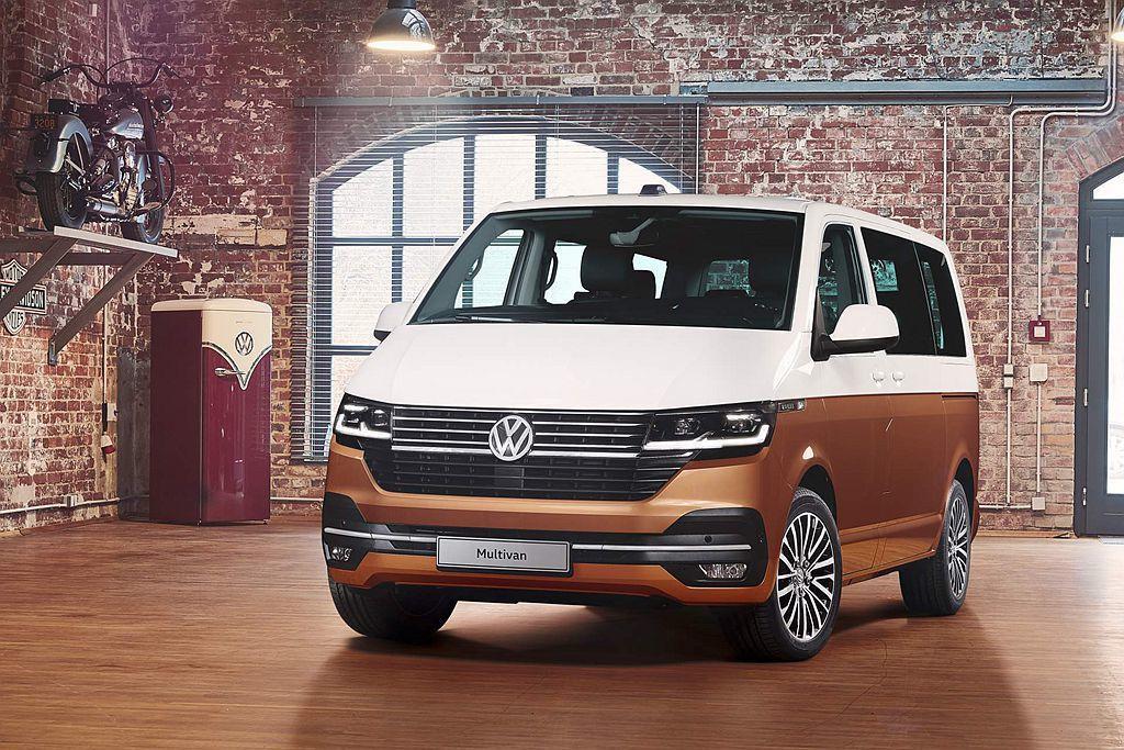 福斯商旅發表小改款T廂車第6.1世代並先亮相Multivan車型,其餘Trans...