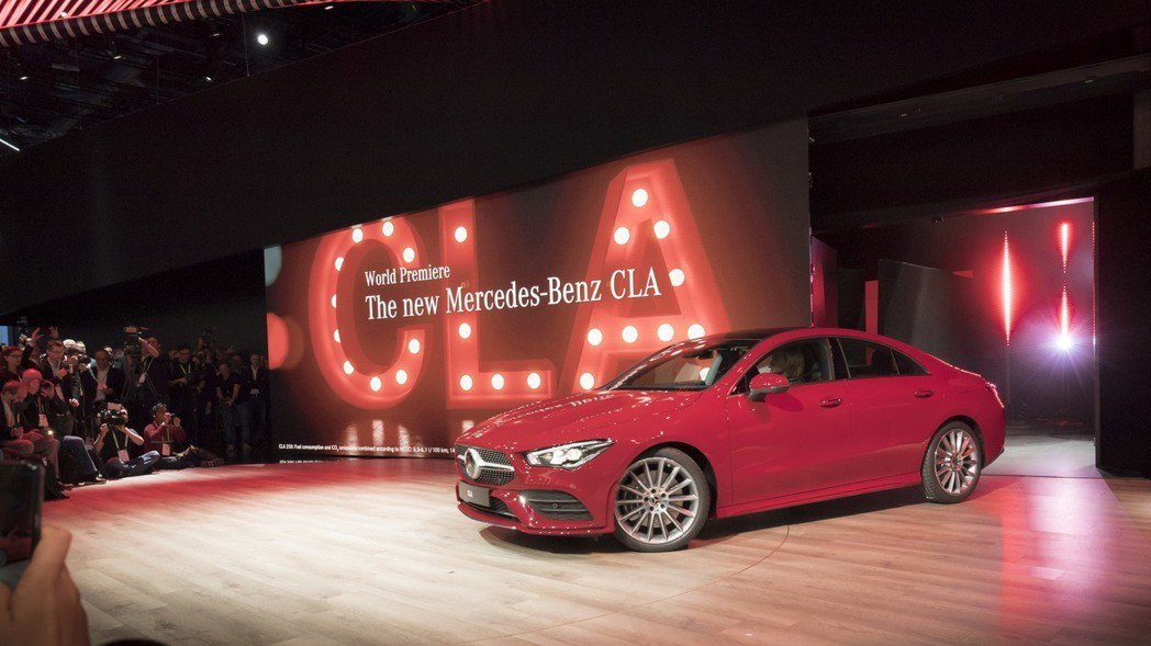 新世代Mercedes-Benz CLA在今年初的CES消費性電子展上正式發表。...