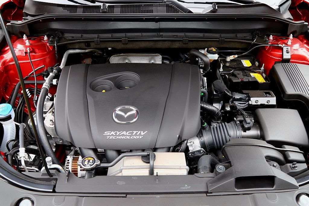 Mazda CX-5這具SKY-G 2.5L汽油引擎擁有194ps馬力及26.3...