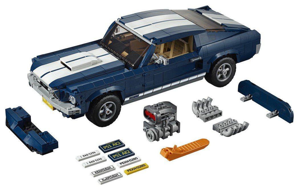 「LEGO 10265 Ford Mustang 福特野馬」延續過往「Creat...