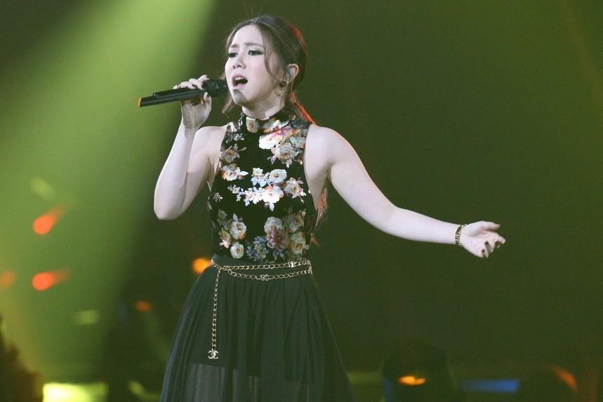 香港歌手鄧紫棋。 聯合報系資料照片/記者劉學聖攝影