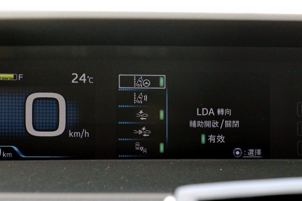 Toyota Safety Sense(TSS)主動式安全防護系統配備包括ACC...