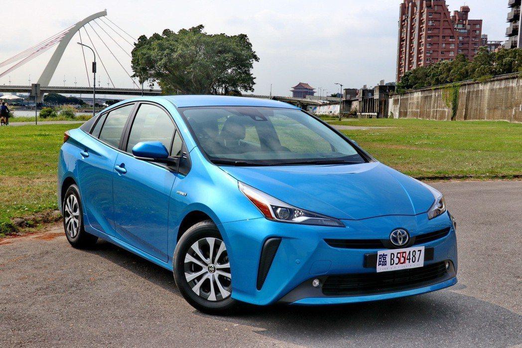 Prius年販目標是兩千台。 記者陳威任/攝影