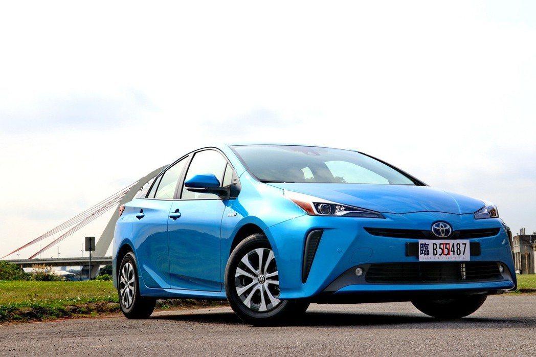 Prius的競爭對手來自自家品牌車款。 記者陳威任/攝影