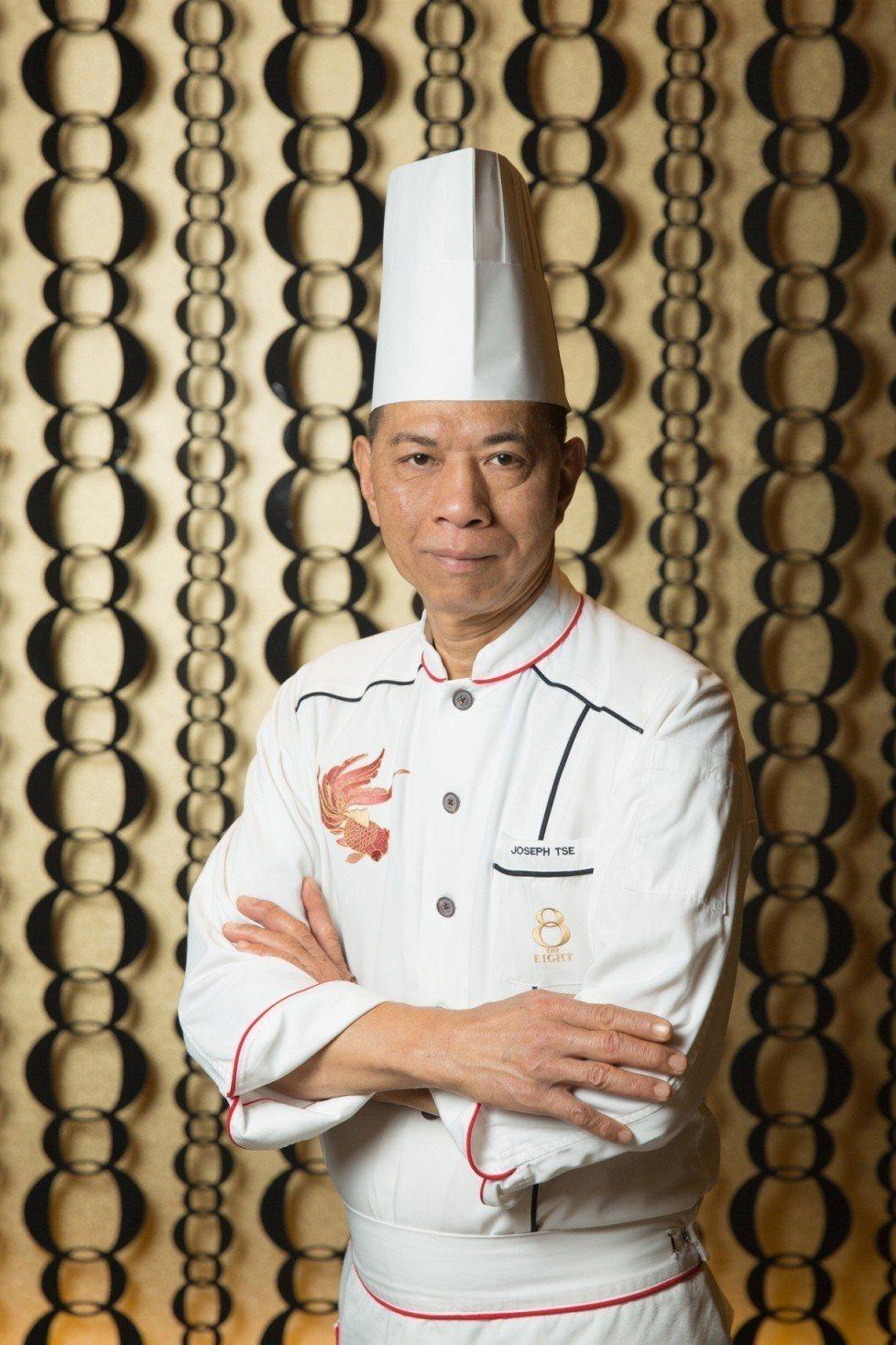 澳門新葡京酒店8餐廳行政總主廚謝錦松,率領團隊來台客座。圖/雲朗觀光集團提供