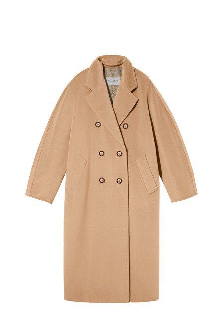101801大衣,售價16萬5,800元。圖/Max Mara提供