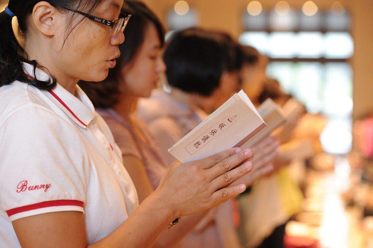 法鼓山將舉辦多場祈福皈依大典。圖/法鼓山提供