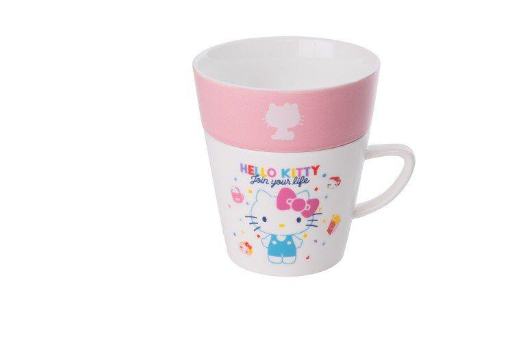 Hello Kitty 45周年偷閒午茶組,加購價249元,限量6,000個。圖...