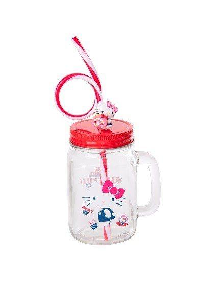 Hello Kitty 45周年賣萌梅森杯,加購價219元,紅色限量10,000...