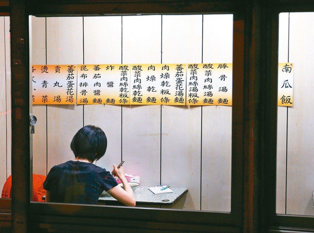 小吃店示意圖。 圖/陳柏亨