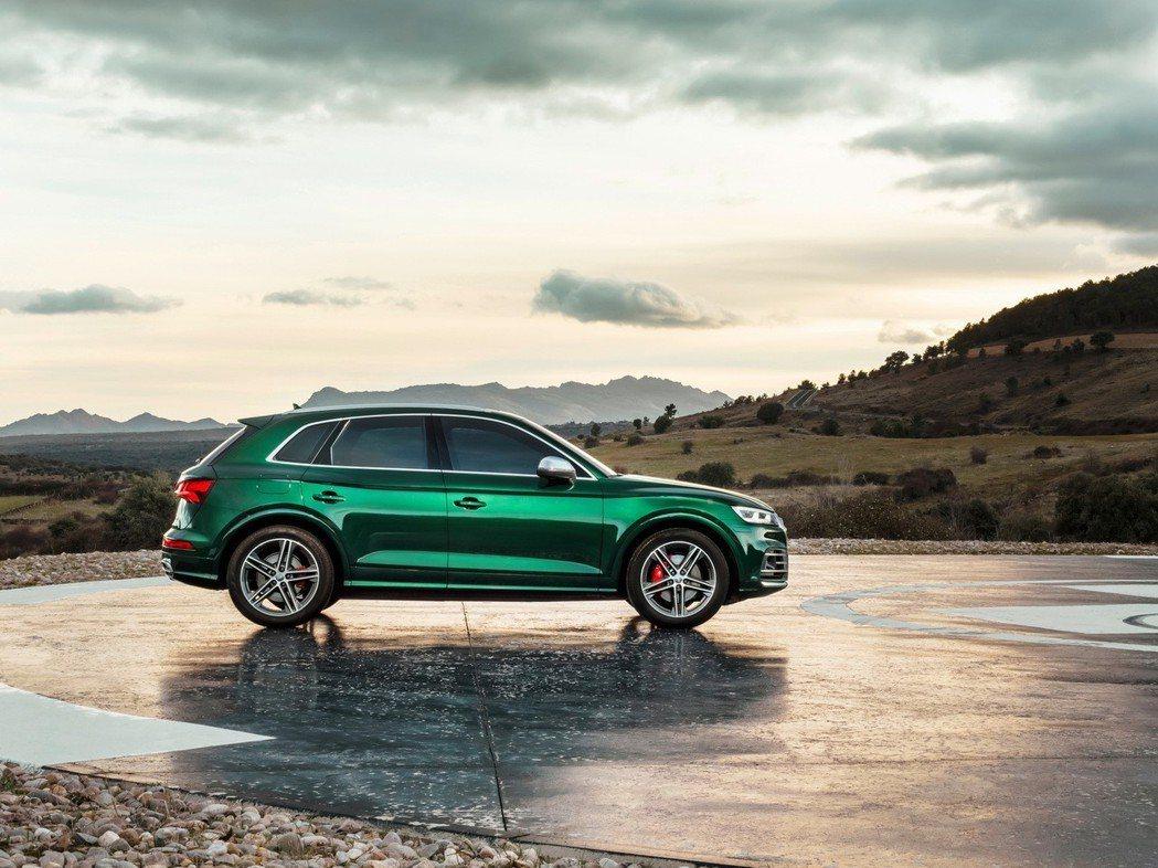 Audi SQ5。 摘自Audi