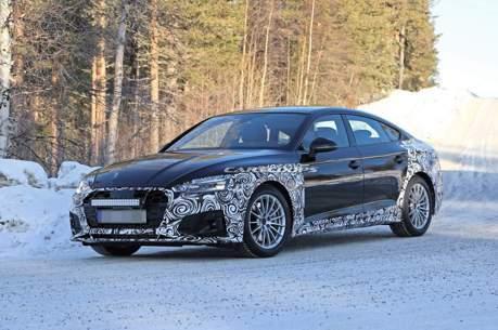 小改款Audi A5北歐冬測捕獲 預計年底發表