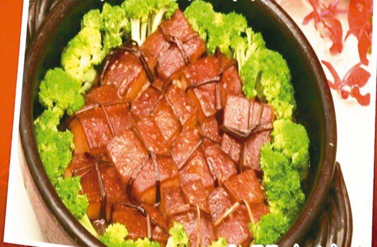 翡翠東坡肉 照片/陳文東提供