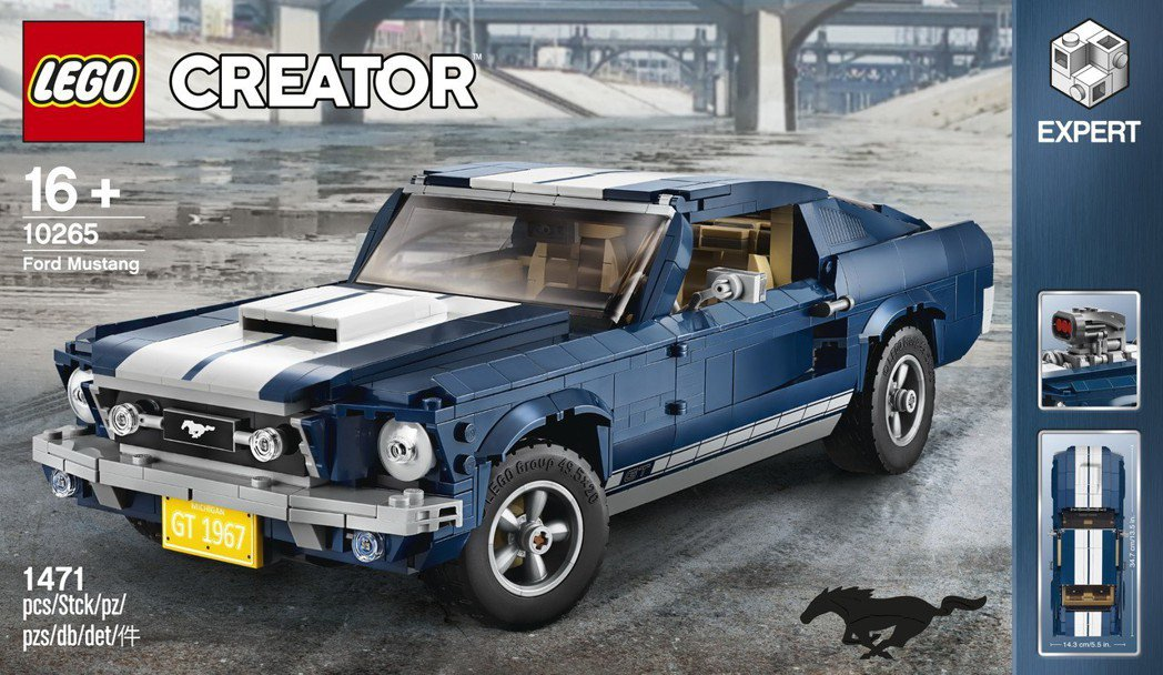 《LEGO 10265 Creator Expert Ford Mustang》...