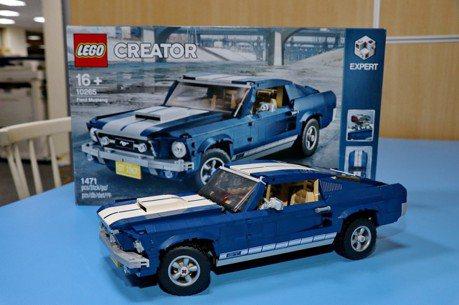 【老司機發燒貨】LEGO 10265 Ford Mustang 福特野馬開箱
