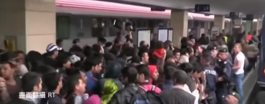 德國不再接納難民。 圖截自網路