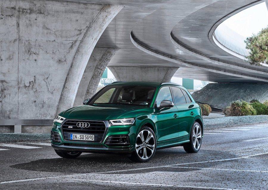 Audi SQ5。 Audi提供