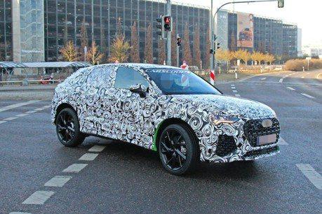 2020 Audi RSQ4首次測試現身 帶來驚人的400匹馬力!