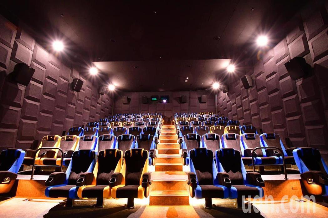 威秀影城看好府城電影市場,在台南開設第3座台南FOCUS威秀影城開幕。記者綦守鈺...