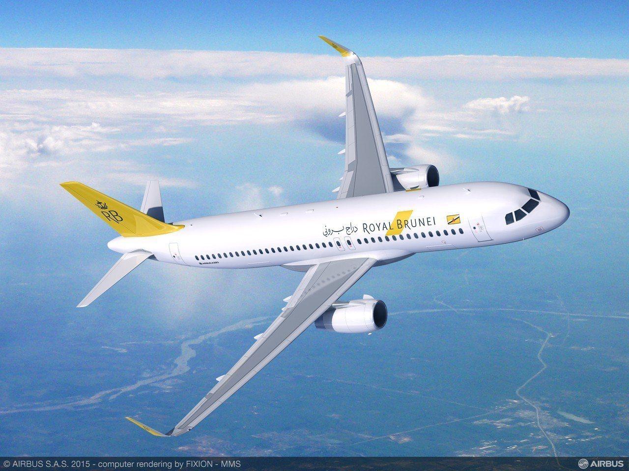 汶萊皇家航空。圖/汶萊航空提供
