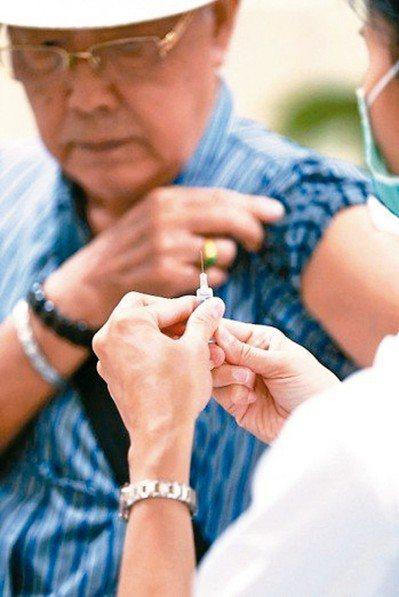預防帶狀疱疹可以選擇施打帶狀疱疹疫苗。 圖/報系資料照