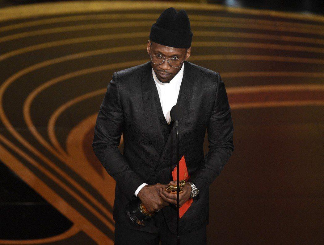 馬赫夏拉阿里以「幸福綠皮書」再奪奧斯卡獎最佳男配角 圖/美聯社