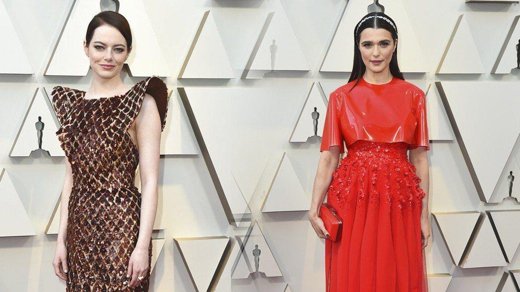 《今日美國》(USA Today)也評選出今年的紅毯「走鐘組」艾瑪史東(Emma...