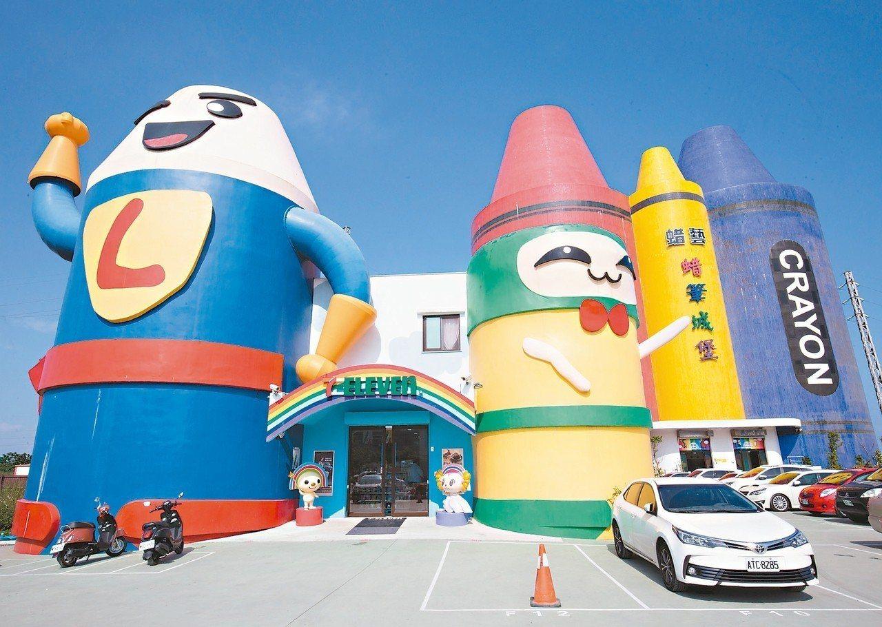 位於宜蘭蘇澳的7-ELEVEN蜡藝館門市,結合蠟筆風格彩繪營造親子友善空間。 本...