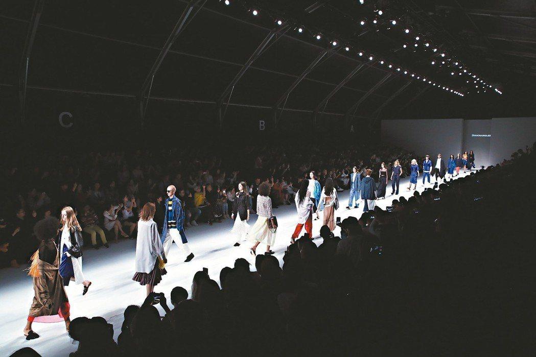 台灣服裝設計品牌「DOUCHANGLEE」去(2018)年參加上海時裝周。 圖/...