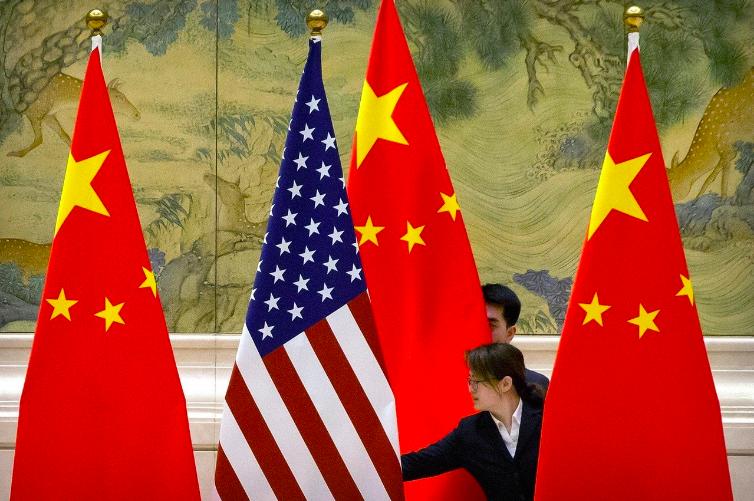 美中貿易戰有轉圜跡象。歐新社