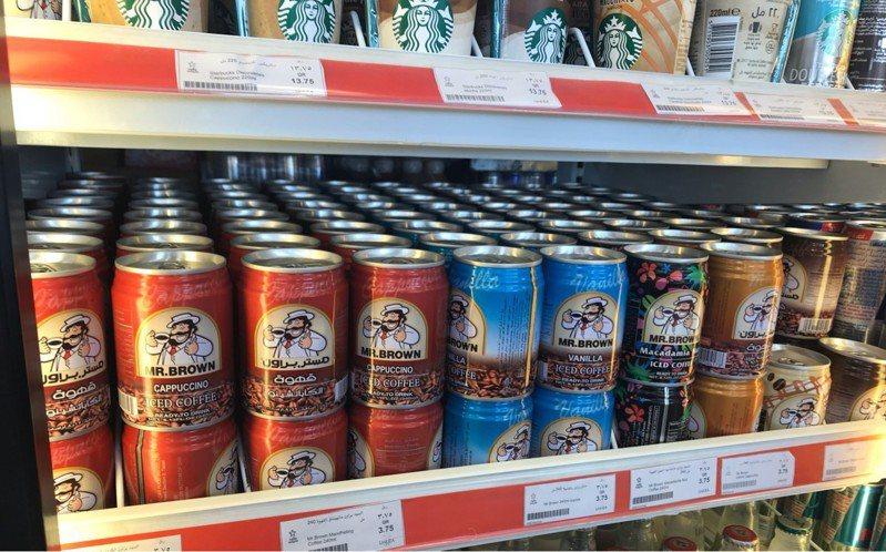 伯朗咖啡不僅在捷克加油站擁有過半的市占率,更成為約旦、塞普勒斯的第一品牌。 圖片來源/PTT