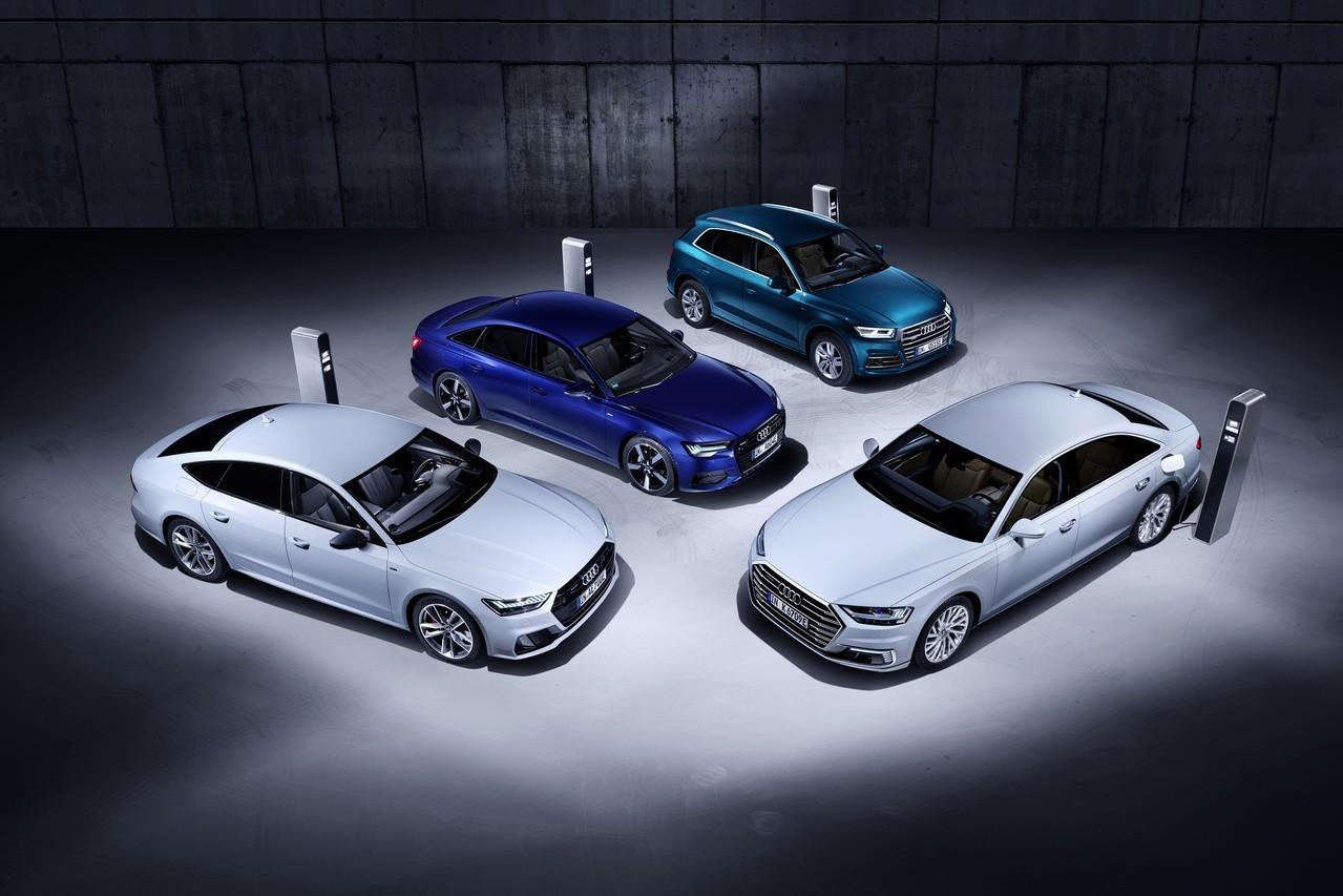 Audi插電式油電軍團來臨 Q5、A6、A7、A8 Plug-In Hybrid登場!