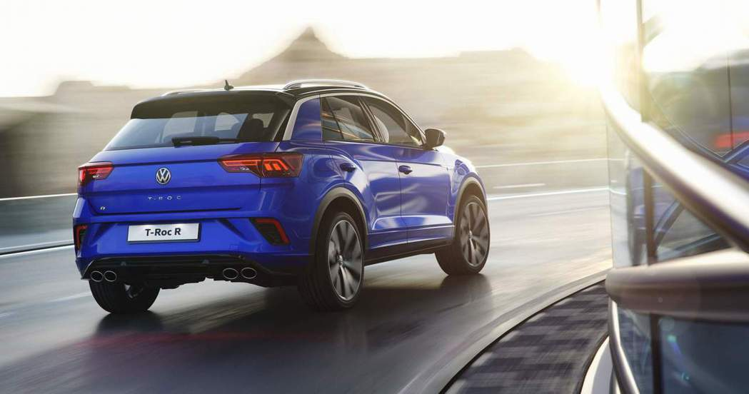 Volkswagen T-Roc R零百加速僅需4.9秒。 摘自Volkswag...