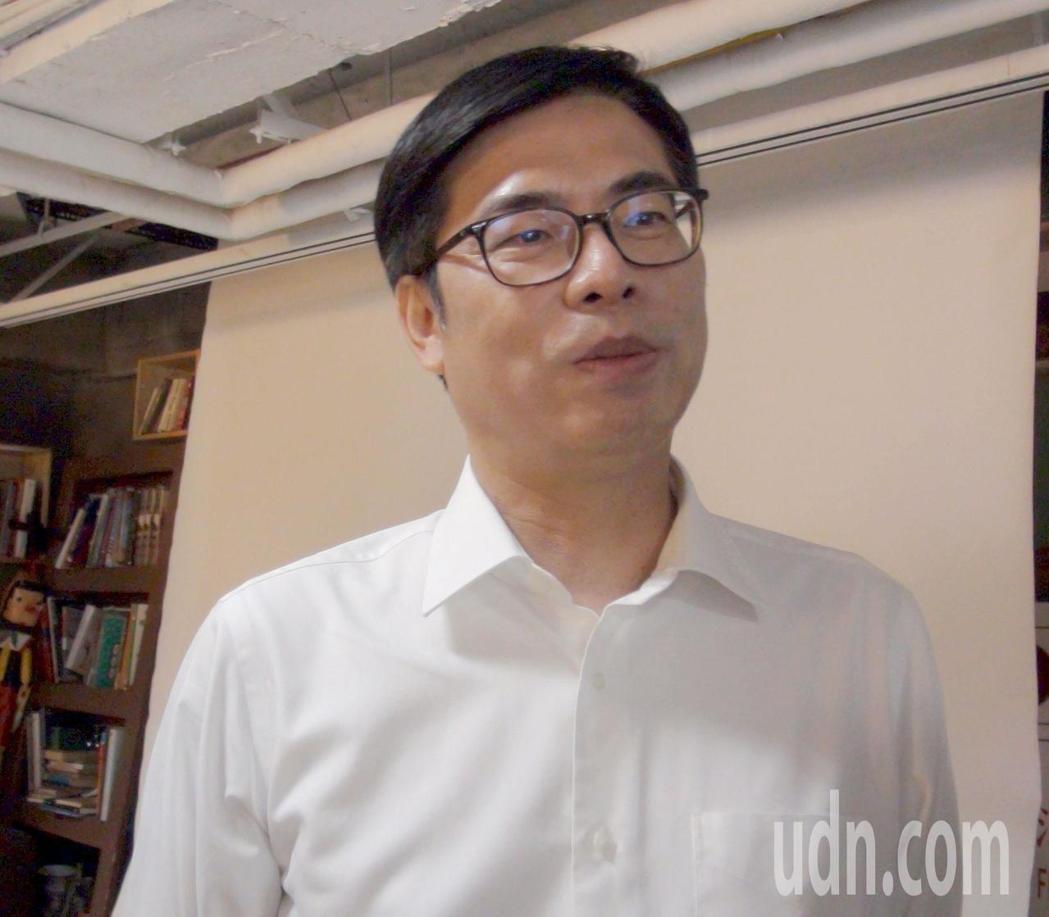 行政院副院長陳其邁。聯合報系資料照片/記者楊濡嘉攝影。