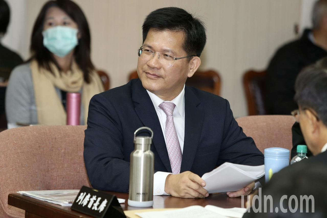 交通部長林佳龍。記者林伯東/攝影
