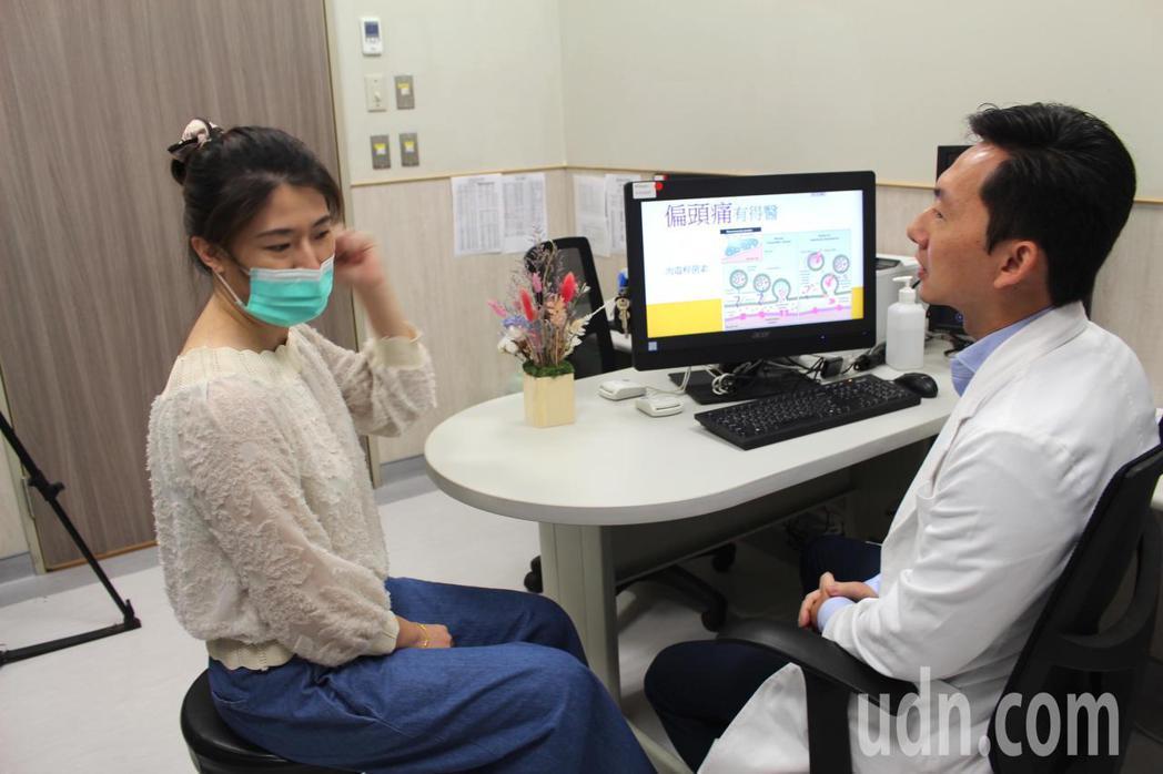 肉毒桿菌不只能用在美容除皺,還可以治療偏頭痛,中國醫藥大學新竹附設醫院神經內科主...