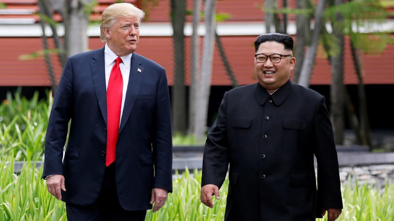 南韓稱川金二會可能宣布終戰宣言。美聯社