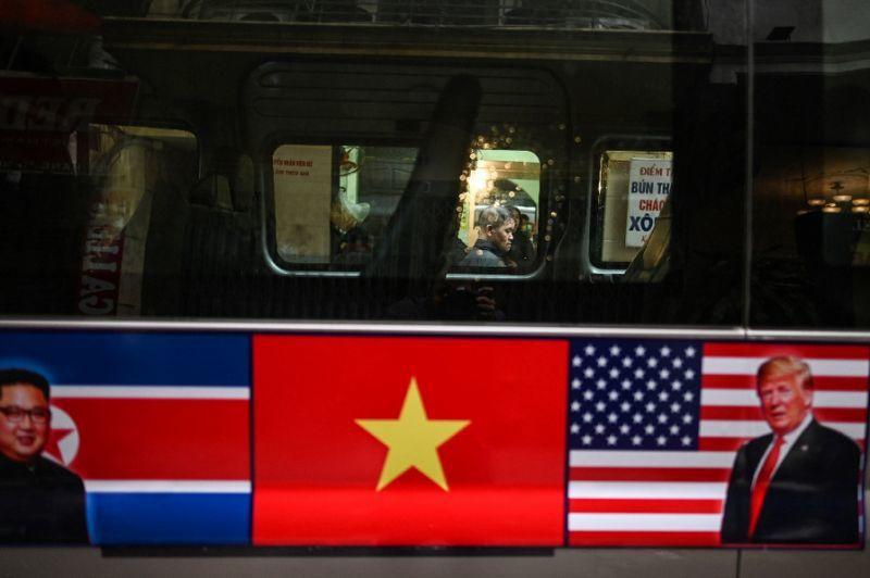 川金二會27日將在越南首都河內登場。法新社