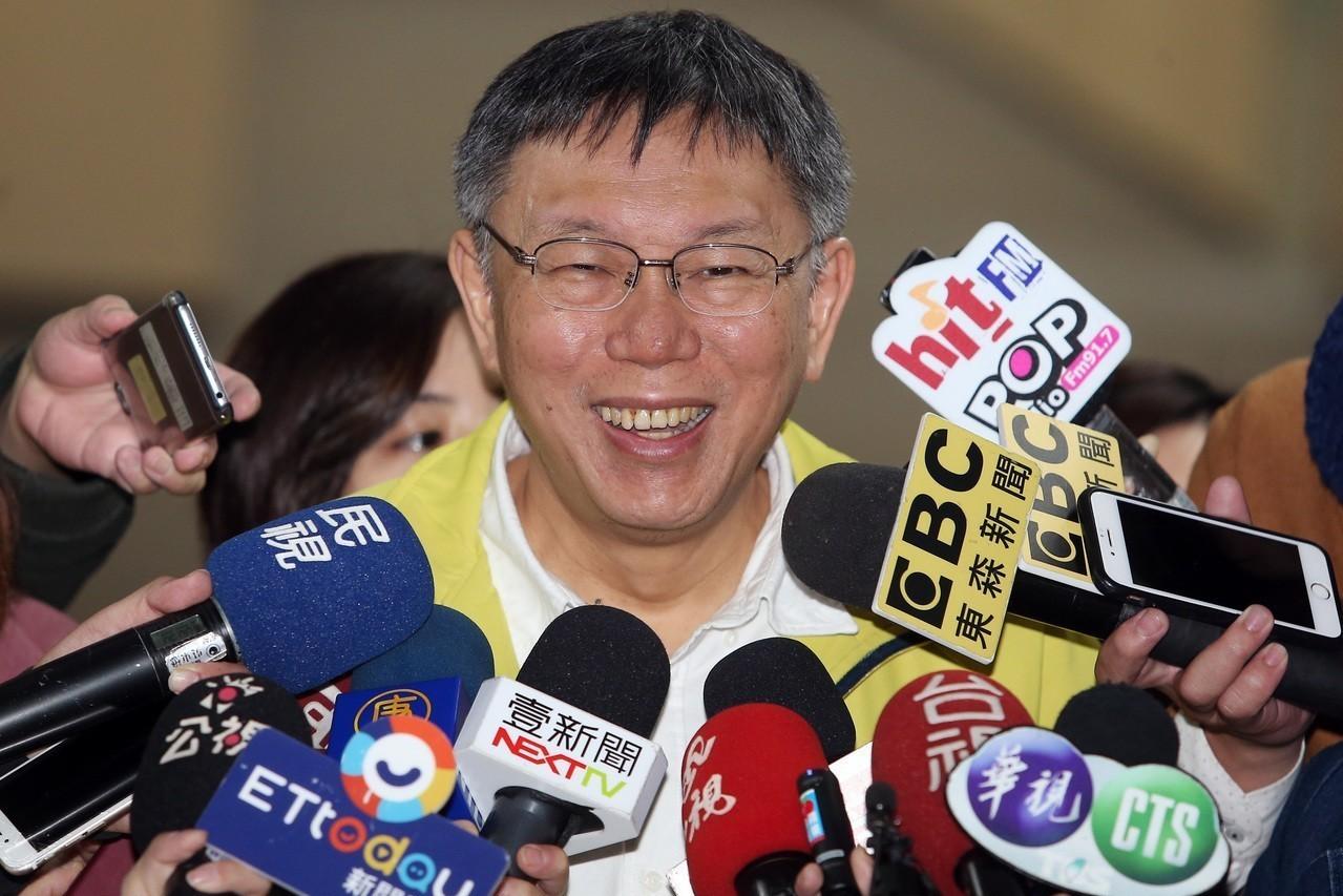 台北市長柯文哲。 聯合報系資料照片/記者曾吉松攝影