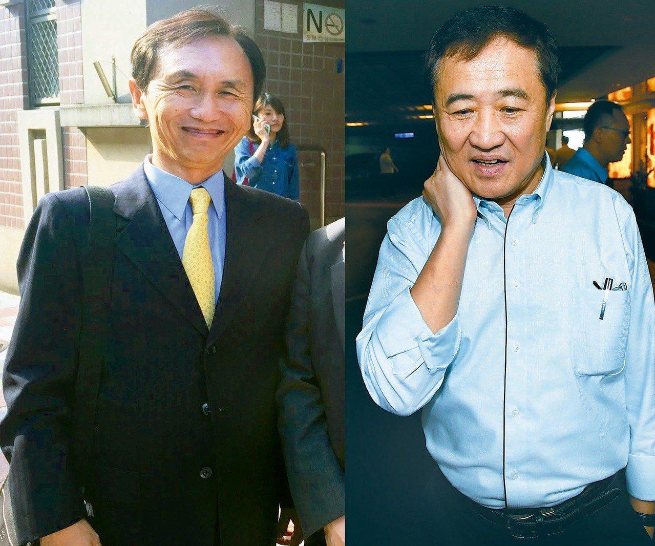 美麗島電子報董事長吳子嘉(圖左)與台北市前副市長陳景峻(圖右)。 聯合報系資料照