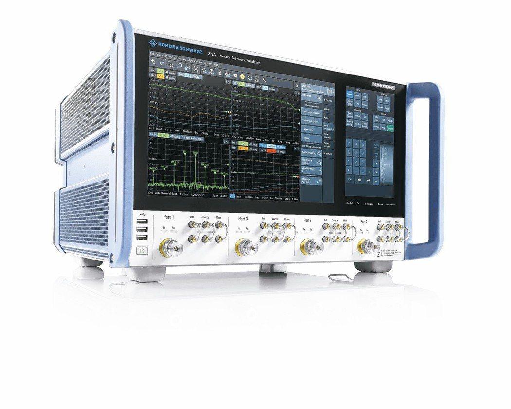 R&S ZNA新一代高階向量網路分析儀。 R&S/提供