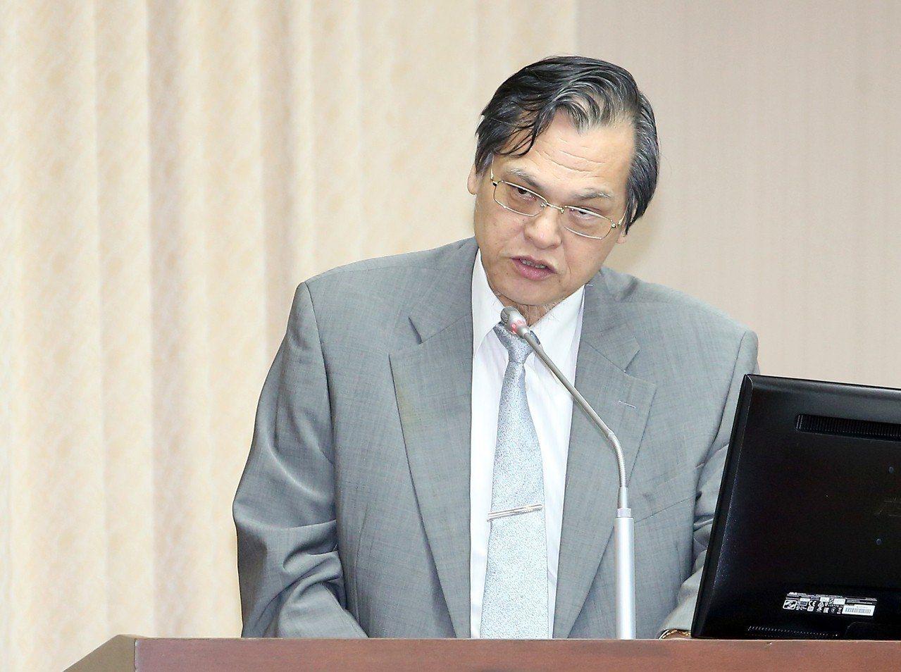 陸委會主委陳明通。聯合報系資料照片