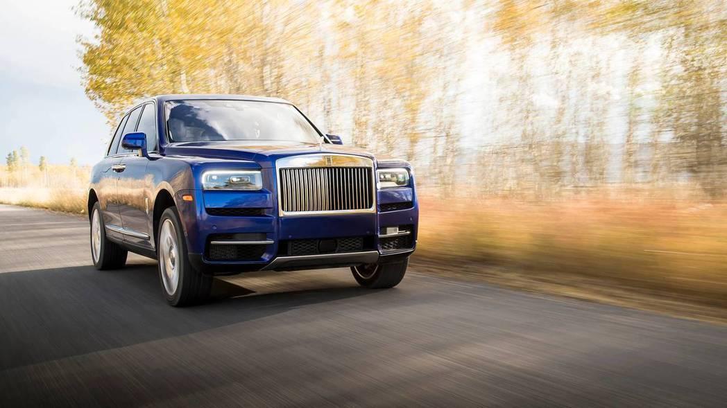 Rolls-Royce Cullinan為品牌首款休旅。 摘自Rolls-Roy...