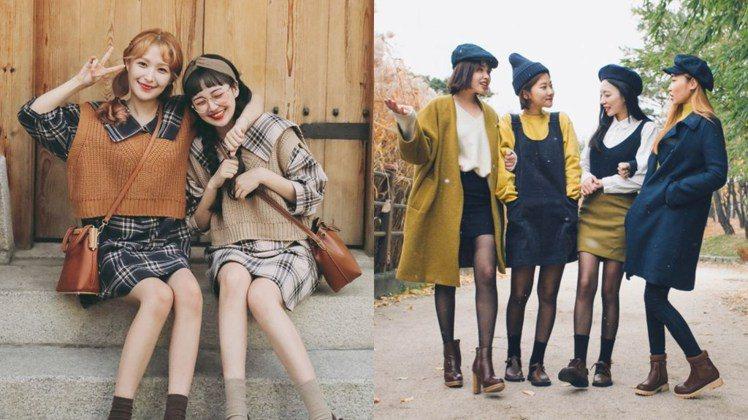 掌握以上技巧,快約姐妹們一起玩穿搭吧!圖/ pinterest,女子學提供