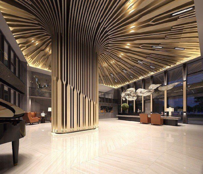 碧波白公設由涵碧樓設計師王勝正操刀,展現時尚旅店的氛圍。 圖/業者提供