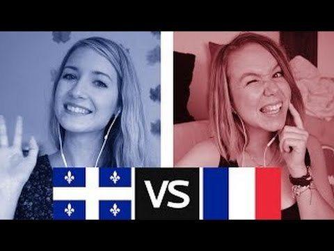 有影片討論法國人跟魁北克人有什麼不同。取自youtube